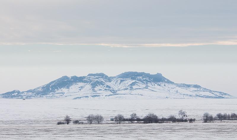 O fotografie dragă mie din munții Măcinului