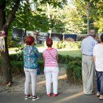 Expozitie fotografica in Gradina Mare