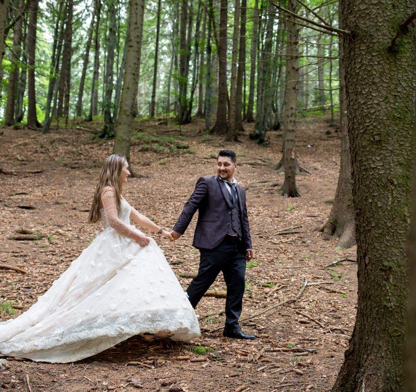 Trash the dress cu Mihaita si Andreea